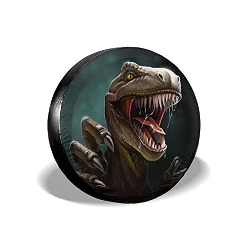 Funny Dinosaur - Cubierta de repuesto para neumáticos, impermeable, a prueba de polvo, UV, para Jeep, remolque, RV, SUV y muchos vehículos de 16 pulgadas
