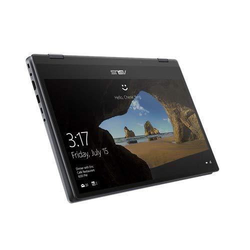 ASUS VivoBook Flip 14 TP412FA-EC372TS 14.0-inch Laptop (10th Gen Core i3-10110U/4GB/512GB SSD/Windows 10 Home (64bit)/Integrated Intel UHD Graphics), Galaxy Blue