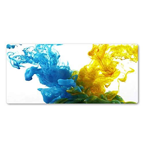 Mauspad Grosses Doppelte Farbe Kunst Mauspad Abstrakte Gummi Große Sperre Rand Professionelle Mauspad Notebook-Pads 1000X500X3Mm