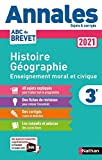 Annales ABC du Brevet 2021 - Histoire-Géographie - EMC (Enseignement...