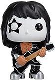 Pop Vinyl Pop Kiss Bassist and Drummer The Demon (Gene Simmons) / Starchild (Paul Stanley) / Spaceman (Ace Frehley) / The Catman (Peter Criss) Decoración de automóviles (Color: a)