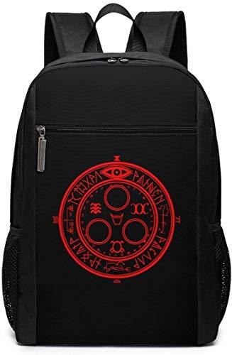 TTmom Schulrucksack,Schüler Bag,Rucksack Damen Herren Silent Hill Backpack Laptop Backpack School Bag Travel Backpack 17 Inch