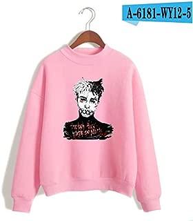 HITSAN INCORPORATION Autumn Fashion T Shirt Revenge Clothing T-Shirt Xxxtentacion Women Casual Long Sleeve T Shirt Top tee Shirt Clothing Color A6181-5 Size L