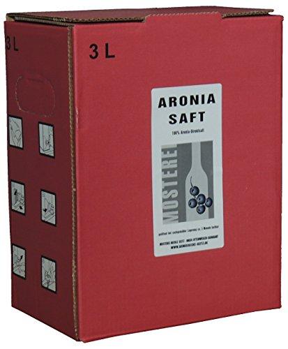 Aronia Saft 3L Direktsaft Naturgold Bag in Box