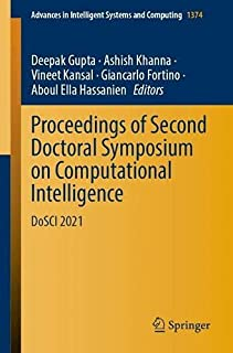 Proceedings of Second Doctoral Symposium on Computational Intelligence: DoSCI 2021: 1374