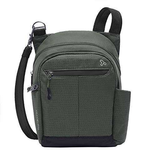 Travelon Anti-theft Active Tour Bag, Charcoal, One Size