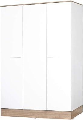 Adore Base Armoire à 3 Portes, Panneau de Particules, 120x197x52 cm