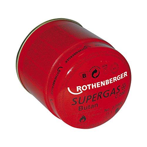 Rothenberger 035901-A Gaskartusche Supergas C200 190g