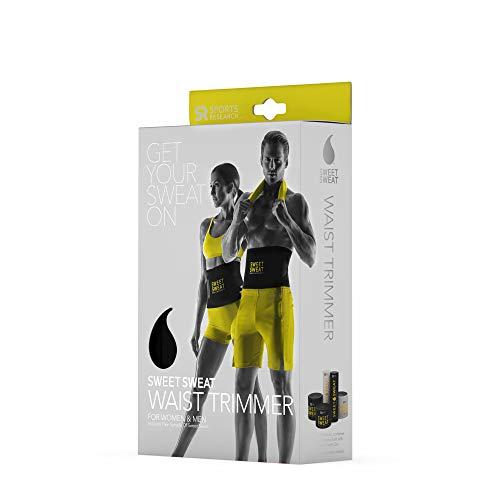 Sports Research Taille Taille-Haies De Gel De L'Échantillon De Sweet Sweat D'Entraînement Enhancer, Medium