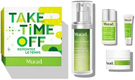 Murad Take Time Off Holiday Set with Retinol Youth Renewal Serum Full Size 1 0 Fl Oz and Trial product image