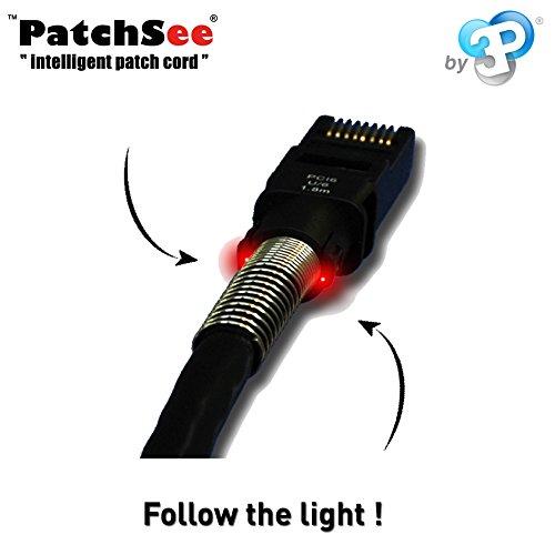 PatchSee Patchkabel CAT 6a U-FTP 10GBit Cu LSZH AWG 26 Länge 1,2m Farbe Schwarz Verpackungseinheit 1 Stück