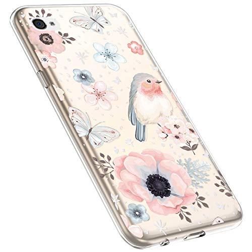 MoreChioce Compatible con iPhone4 /4S Silicona Funda,Slim Shock Absorption Silicona suave Volver...