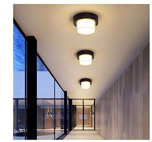 Applique Murale wandlamp, 12 watt, waterdicht veranda licht aan de muur gemonteerd, led-plafondlamp voor binnen en buiten, slaapkamer, tuindecoratie lichten