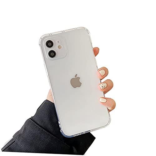 Keyihan Cover per iPhone 8 Plus e iPhone 7 Plus 5,5 Pollici Custodia Antiurto Trasparente Flessibile TPU Silicone Protettiva Case Cuscino d'Aria tecnologia Rinforzare la con Quattro Angoli (Chiaro)