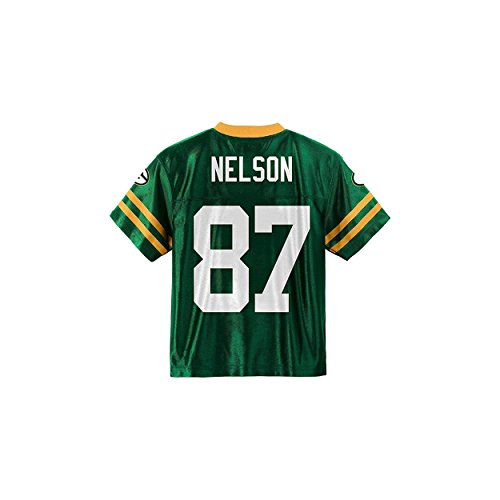 Jordy Nelson Green Bay Packers Green Youth Player Home Jersey (Small 6/7)