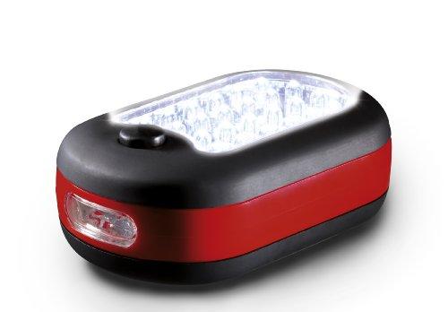 Preisvergleich Produktbild AEG Mini Leuchte Flachleuchte Arbeitsleuchte Taschenlampe LM 324 mit 24 + 3 Power LED,  mit Haltemagnet und klappbarem Haken