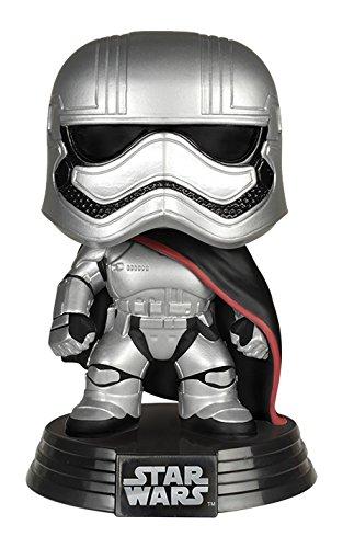 Star Wars - Figura de Vinilo Captain Phasma (Funko 6226