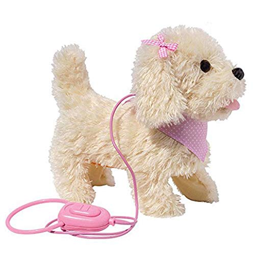 Fluffy Plush Walking & Talking D...