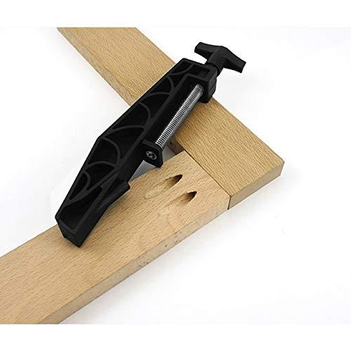 Herramientas de carpintería Guía 1PCS Espesar la madera de bolsillo agujero articulaciones ejercicio conjunto de la plantilla fija clip de agujero de extracción de la abrazadera de carpintería Slant A