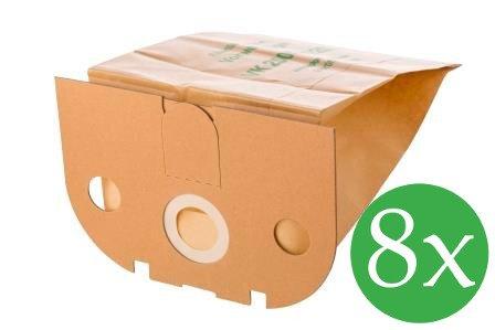 8 Staubsaugerbeutel Premium geeignet für Vorwerk Tiger 250, 251 und 252