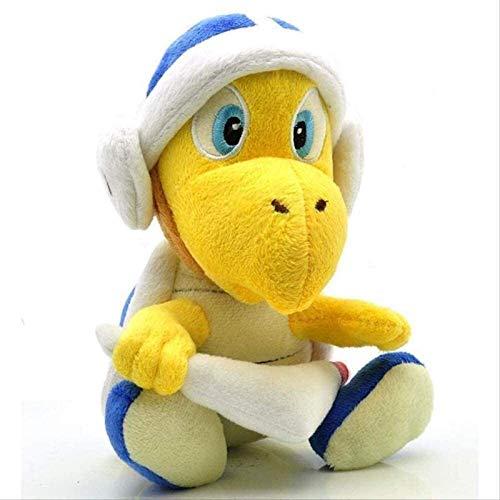 HEWE Plüschtiere nettes super Mario Plüschtier 20cm, mit Bumerang Plüsch weich gefüllte Puppenspielzeug für Kinder Geschenke