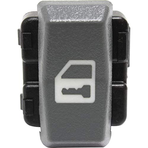 For GMC K1500 / K2500 / K3500 Door Lock Switch 1995 96 97 98 99 2000 | 1-Button | Blade Type | 8-Prong Male Terminal