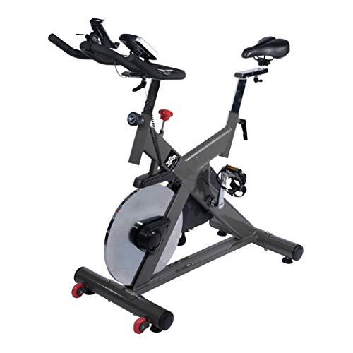 FIT4HOME TF-S760 Intense Exercise Bike Adjustable Resistance, 18kg Flywheel, Adjustable Seat Black