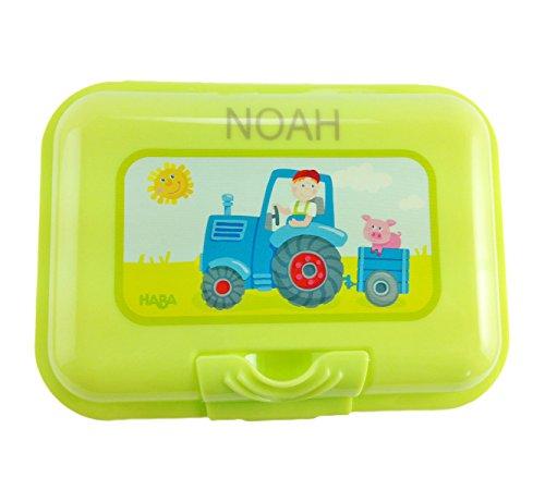 Brotdose mit Namen, Traktor