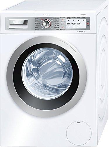 Bosch WAY2874S Home ProfessionalWaschmaschine FL / A+++ / 189 kWh/Jahr / 1400 UpM / 8 kg / 10560 L/Jahr / Selbstreinigungsschublade / silber / weiß