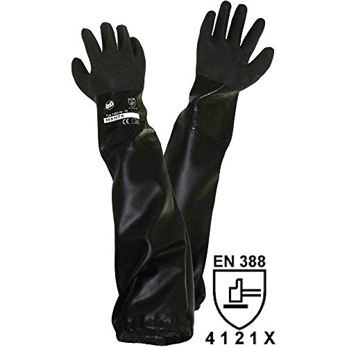 L+D Griffy 1485-H PVC Sandstrahlerhandschuh Größe (Handschuhe): Herrengröße EN 388 CAT II 1 St.