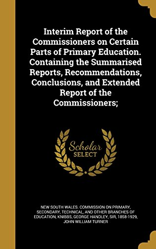 INTERIM REPORT OF THE COMMISSI