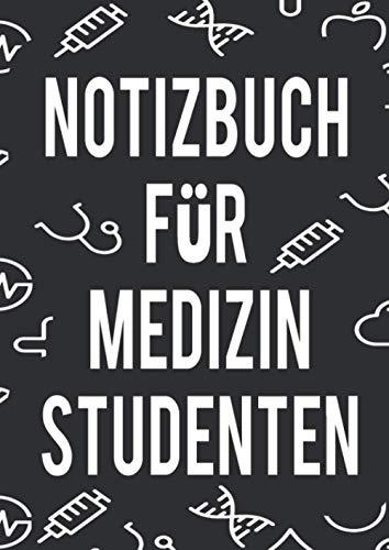 Notizbuch für Medizin Studenten: Praktisches und elegantes Notizbuch a4 120 Seiten liniertes blanko Papier, Medizin Student, Medizin Studentin, notizbuch medizin