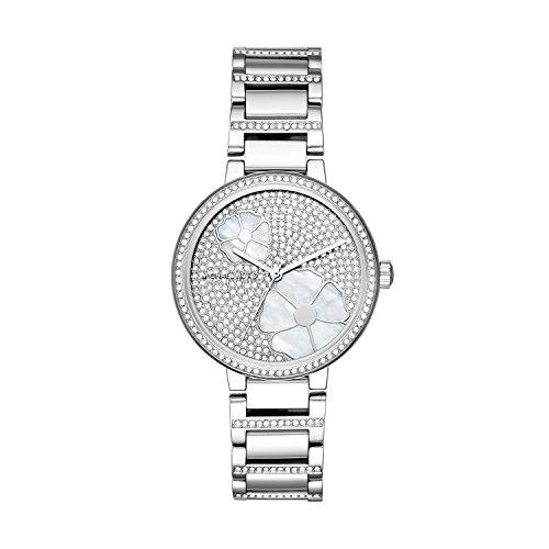 Michael Kors dames analoog kwarts horloge met roestvrij stalen armband MK3835