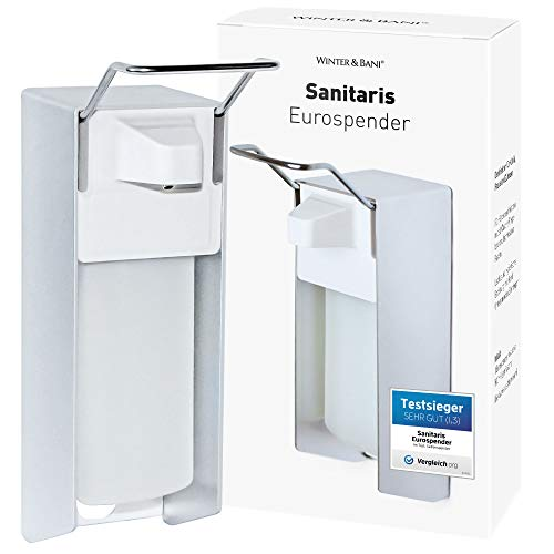 Winter & Bani Sanitaris Eurospender 500 ml – Seifenspender und Desinfektionsmittel Spender