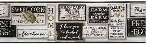 Ranking TOP5 MIABE - Rustic Farmhouse Country Sweet W Limited Special Price White Farm Sayings