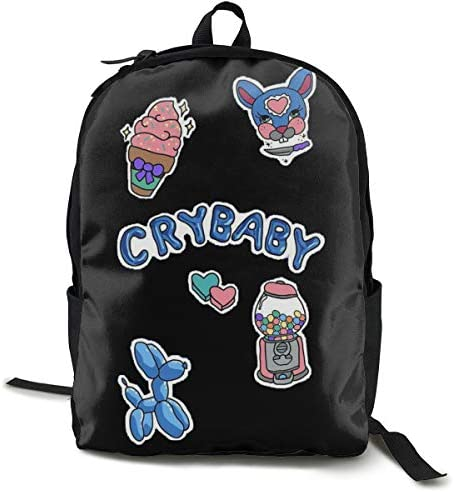 ETeebag Unisex Backpack Cool Teenager Black One Size product image