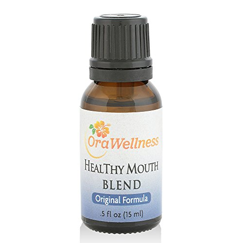 OraWellness HealThy Mouth Blend Tooth Oil, Organic...