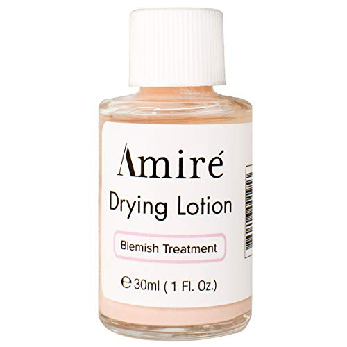 Amire Blemish Drying Lotion, Acne Spot Treatment Skincare Formula for Teens and Adults, Pink Lotion Dries Out Pimples, Blemishes, Zits, and Clogged Pores