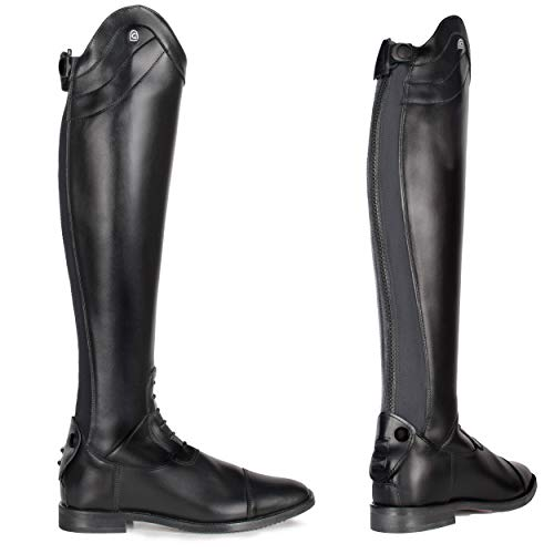 Cavallo Reitstiefel Linus Slim | Farbe: schwarz | Größe: 7-7½ | Schaftform: 51/36