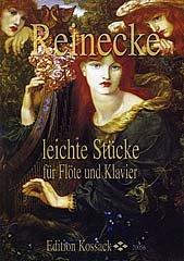 LEICHTE STUECKE FUER FLOETE UND KLAVIER - arrangiert für Querflöte - Klavier [Noten / Sheetmusic] Komponist: REINECKE CARL