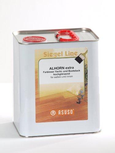 Stivaletti Asuso 'Alhorn extra' e vernice trasparente lucida 3,0 litri colli