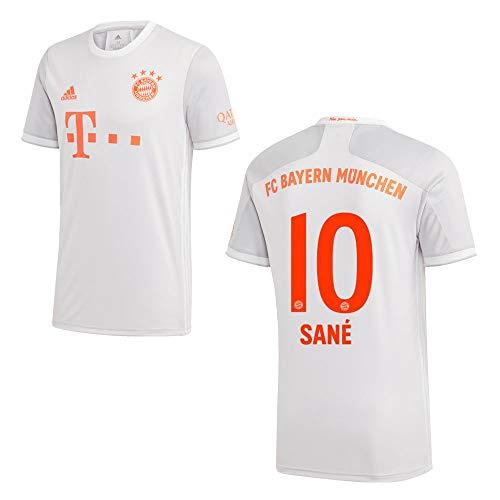 adidas Bayern Trikot Away Kinder 2021 - SANÉ 10, Größe:140