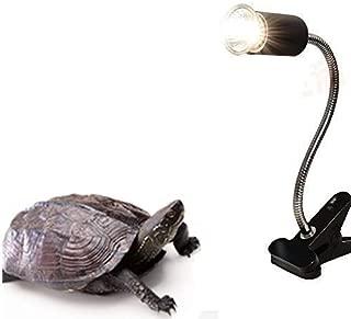 Qslqyb 75 W UVA UVB Reptile Heat Bulb, Basking Spot Infrared Night Heat Lamp Moonlight Heat Bulb for Reptiles & Amphibians