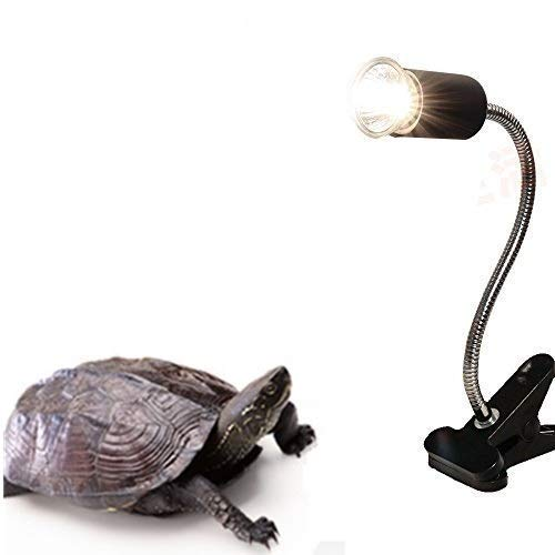 Aquarium Stand,Reptile Lamp Stand for E27 Lamp Holder,Such As Pet UVB Bulbs, Ceramic Heating Bulbs(Not Including Bulb) (1, Black)
