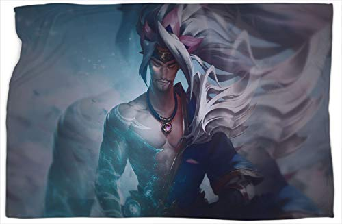 Yasuo League Legends Patterned Nap blanket Scarf Super Soft, Warm and Comfortable Blankets and Throws 60 x 80 inch