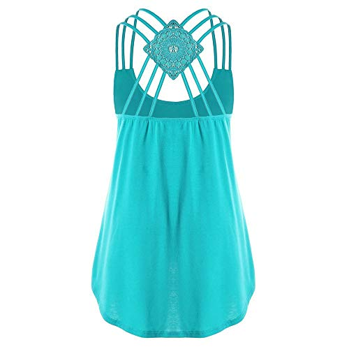 Tops voor Vrouwen Clearence Sale,Limsea 2019 Dames Bandages Mouwloos Vest Strappy Tank Tops