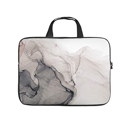 Waterproof Marble Texture Briefcases Laptop Sleeve - for Computer Notebook White 10 Zoll