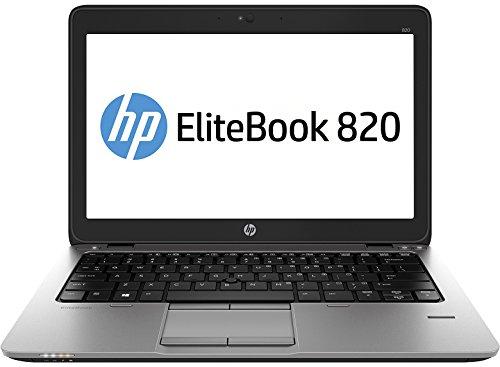 HP EliteBook 820 31,8 cm (12,5 Zoll) Laptop (Intel Core i5 4200M, 3,1GHz, 4GB RAM, 500GB HDD, Intel HD-Grafikkarte 4400, Win 8 Pro) grau