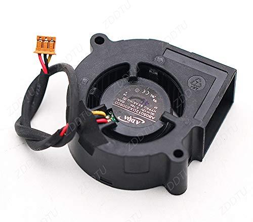 ZDDTU Ventilador Compatible para Benq 5020 12V 0.15A AB05012DX200600 Proyector de Engranaje de Gusano Ventilador de refrigeración de 5 cm