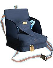 roba Boostersäte, mobil uppblåsbar barnstol som sitthöjning och praktisk för resor